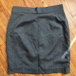 H&M Grey Pencil Skirt